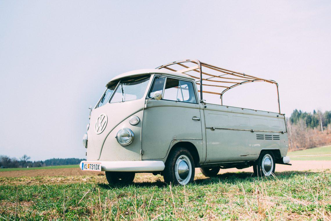 Pritsche T1 VW Bulli-Mietbar