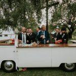 Elfi Bulli-Mietbar VW Bus T2 Theke seitenansicht