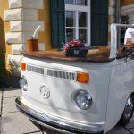 Bulli Mietbar Elfi bei der Hochzeitsmesse in Velden