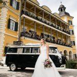 Smaro VW Bulli Westfalia bei der Hochzeitsmesse Weddingsparkle in Velden