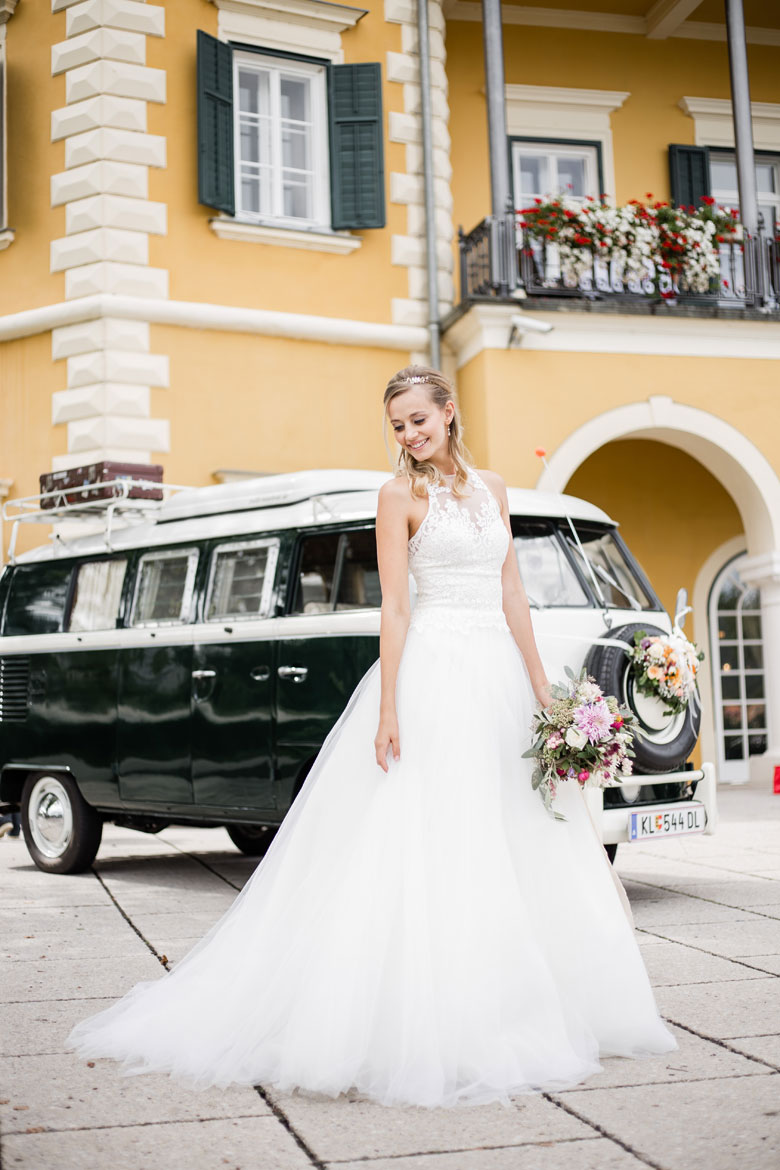 Smaro VW Bulli Westfalia Weddinsparkle Velden