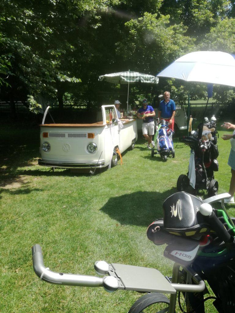 Golfturnier am Klopeinersee mit Elfi der Bullibar